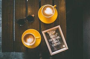 カフェの広告